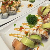 Photo taken at Kymata Sushi Bar by Eleni B. on 12/21/2014