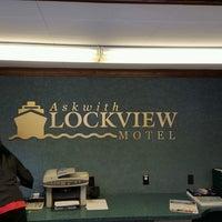 Photo taken at Lockview Motel by Adam S. on 8/6/2016