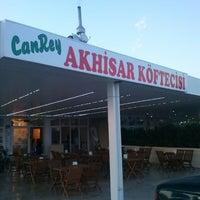 Photo taken at Canrey Akhisar Köftecisi by TC Caner T. on 6/1/2014
