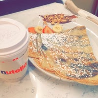 Photo taken at Nutella Cafe by Mona س. on 11/8/2017