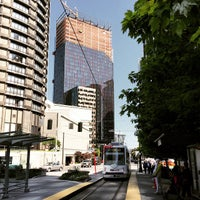 Photo taken at South Lake Union Streetcar by Eric T. on 5/9/2015