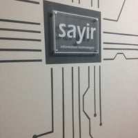 Photo taken at Şayir Information Technologies by Yener Ş. on 12/11/2013