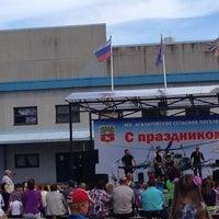 """Photo taken at Администрация МО """"Агалатовское сельское поселение"""" by Татьяна К. on 8/16/2014"""