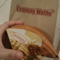 Photo taken at Leomag Waffle by Zayani Z. on 12/19/2013