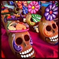 Photo taken at Mercado Jamaica by Ariadna P. on 10/24/2012