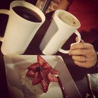 Photo taken at Café Artesanos del Dulce by Ariadna P. on 1/20/2013