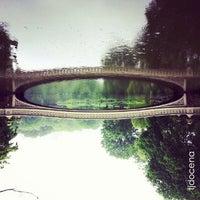 Photo taken at Bow Bridge by TJ D. on 5/19/2013