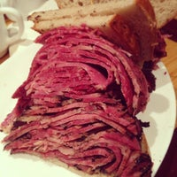 Photo taken at Carnegie Deli by TJ D. on 2/11/2013