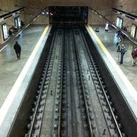 Photo taken at Metro Alameda [VD,VM] by Manuel M. on 3/7/2013