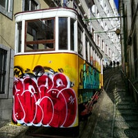 Photo taken at Elevador do Lavra by Manuel M. on 2/24/2013