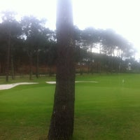 Photo taken at Club de Golf La Toja by Nuria B. on 12/29/2013