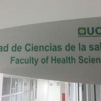 Photo taken at Facultad de Ciencias de la Salud - UCO by Juan C. on 5/24/2014