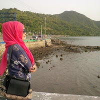 Photo taken at Pantai Amahami by Rnieee A. on 6/6/2014