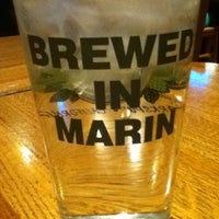 Photo taken at Marin Brewing Company by teija a. on 3/14/2013