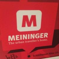 Photo taken at MEININGER Hotel Berlin Alexanderplatz by Kristina M. on 10/3/2016