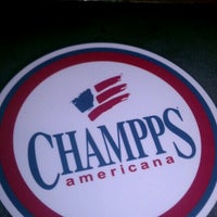 Photo taken at Champps Americana by andy S. on 12/2/2012