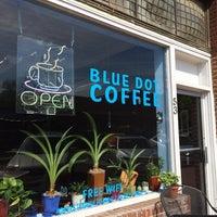 Photo taken at Blue Dot Coffee by David E. on 5/9/2014