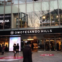 Photo taken at DENHAM Omotesando Hills by Sandra L. on 1/23/2014