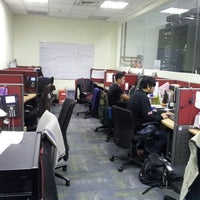 Photo taken at IT Araneta Support X NET-AD boys HQ by Jeytz T. on 6/14/2013