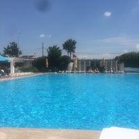 Photo taken at Pelikan Otel by Büşra Ö. on 7/20/2017