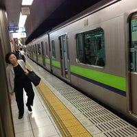 Photo taken at Shinjuku Line Shinjuku Station (S01) by F.Kit น. on 6/4/2013