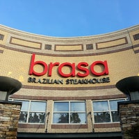 Photo taken at Brasa Brazilian Steakhouse by Jerome S. on 7/13/2013