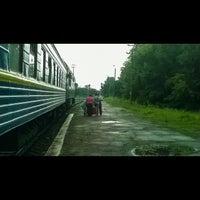Photo taken at Золотоніський залізничний вокзал by Дима on 7/18/2014