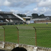 Photo taken at Estádio Francisco Vasques (Souza) by Gabriel C. on 5/17/2014