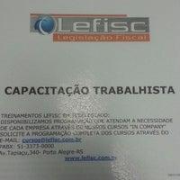 Photo taken at Lefisc Legislação Fiscal by ErIco Z. on 7/25/2014
