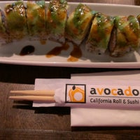 Photo taken at Avocado California Roll and Sushi by Belem P. on 1/16/2014