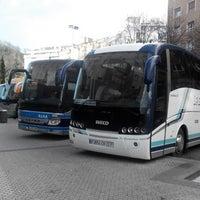 Photo taken at Donostia | San Sebastián Bus Station by Sergey M. on 2/5/2014