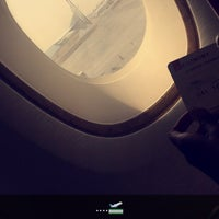Photo taken at Emirates (Airbus A380) Business Class by Jas0_oo on 2/14/2016