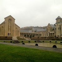 Photo taken at Abbaye Notre-Dame d'Orval by Dries . on 11/10/2012