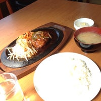 Photo taken at 太陽食堂 by Hironori Y. on 6/1/2014
