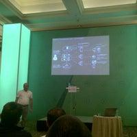 Photo taken at Microsoft Sinergija 13 by Mihailo S. on 10/23/2013