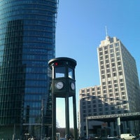 Photo taken at Potsdamer Platz by Manuel F. on 3/25/2013