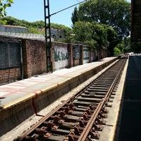 Photo taken at Estación Maipú [Línea Tren de la Costa] by Diego A. on 12/28/2012
