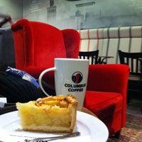 Photo taken at Columbus Coffee by Дмитрий В. on 1/23/2014
