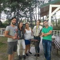 Photo taken at Saklı Bahçe | Yunusemre Park ve Davet Bahçesi by Serpil B. on 8/17/2017