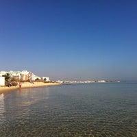 Photo taken at Beach by Marcin S. on 9/15/2014