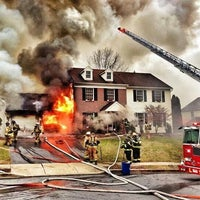 Photo taken at Exeter Township Fire Department by Chris S. on 1/4/2014