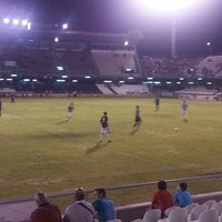 Photo taken at Estadio Municipal Castalia by Isaac G. on 8/24/2013