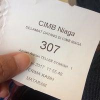 Photo taken at Bank CIMB Niaga by Endah W. on 7/10/2017