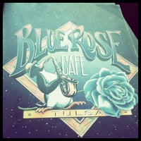 Photo taken at Blue Rose Cafe by Dave S. on 4/29/2013