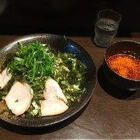 Photo taken at つけ麺本舗 辛部 五日市店 by Masayuki Y. on 11/26/2014