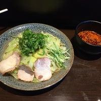 Photo taken at つけ麺本舗 辛部 五日市店 by Masayuki Y. on 9/17/2015