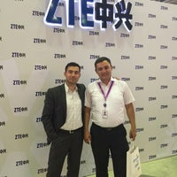 Photo taken at ICTExpo by Ildar Y. on 9/24/2014