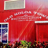 Photo taken at Old Koloa Town by Anna L. on 3/10/2013