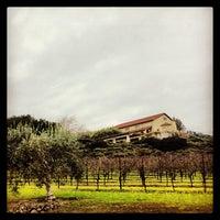 Photo taken at Gloria Ferrer Caves & Vineyards by anjelika on 1/5/2013