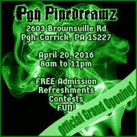 Photo taken at Pgh Pipedreamz by DJ H. on 4/20/2016